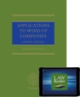 Applications to Wind Up Companies (Book and Digital Pack) Cover Image