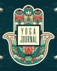 Yoga Journal: Yoga Notebook - Chakra - Meditation Journal Cover Image