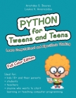 Python for Tweens and Teens: Learn Computational and Algorithmic Thinking Cover Image