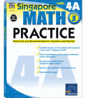 Math Practice, Grade 5: Reviewed and Recommended by Teachers and Parents (Singapore Math Practice) Cover Image