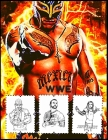 Wwe: WWE Super star Coloring Book for Kids and Adults with Fun, Easy, and Relaxing Cover Image