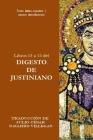 Libros 13 a 15 del Digesto de Justiniano: Texto latino-español y ensayo introductorio Cover Image