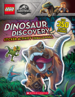 Dinosaur Discovery (LEGO JURASSIC WORLD: STICKER ACTIVITY BOOK) Cover Image