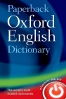 Paperback Oxford English Dictionary Cover Image
