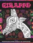 Malbuch für Erwachsene - Erstaunliche Muster Mandala und Entspannung - Tier - Giraffe Cover Image
