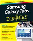 Samsung Galaxy Tabs for Dummies Cover Image