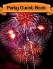 Party Guest Book Cover Image