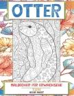 Malbücher für Erwachsene - Keine Angst - Tiere - Otter Cover Image