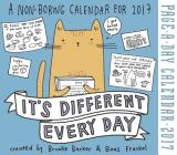 It's Different Every Day Page-A-Day Calendar 2017 Cover Image