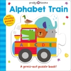 Puzzle and Play: Alphabet Train: A Press-out Puzzle Book! (Puzzle & Play #1) Cover Image