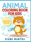 Animals Coloring Book for Kids: 2 Books in 1: A Fun Coloring Book With Cute Animals For Every Child Cover Image