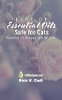 List of Essential Oils Safe for Cats: Essential Oil Recipes Safe for Cats Cover Image