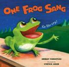 One Frog Sang Cover Image