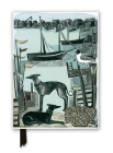 Angela Harding: Harbour Whippets (Foiled Journal) (Flame Tree Notebooks) Cover Image