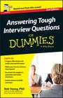 Answering Tough Interview Questions for Dummies - UK Cover Image