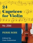 Rode: 24 Caprices for Violin (No. 2066) Cover Image