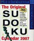 The Original Sudoku Calendar 2007 Cover Image