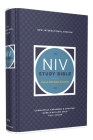NIV Study Bible, Fully Revised Edition, Hardcover, Red Letter, Comfort Print Cover Image