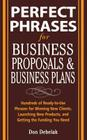 Perfect Phrases for Business Proposals and Business Plans Cover Image