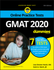 GMAT for Dummies 2020: Book + 7 Practice Tests Online + Flashcards Cover Image