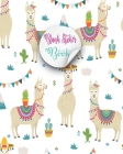 Blank Sticker Book: Lovely Alpaca Cute Llama Blank Sticker Book For Cute Girls Kids, Collecting stickers animals blank sticker books For B Cover Image