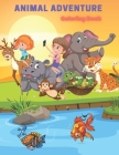 Animal Adventure - Coloring Book Cover Image