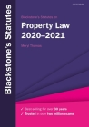 Blackstone's Statutes on Property Law 2020-2021 Cover Image