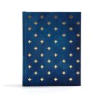CSB Notetaking Bible, Navy/Cross Cloth-Over-Board Cover Image