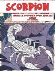 Livres à colorier pour adultes - Gros caractères - Animaux - Scorpion Cover Image