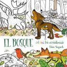 El Bosque: Colorea los ecosistemas (Colorear #1) Cover Image