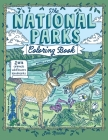 The National Parks Coloring Book Cover Image