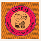 Love Is Walking Hand in Hand (Peanuts) Cover Image