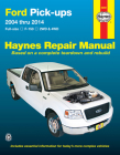 Ford F-150 2WD & 4WD Pick-ups (04-14) Haynes Repair Manual: Full-size F-150 2WD & 4WD Cover Image