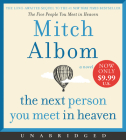 The Next Person You Meet in Heaven Low Price CD: The Sequel to The Five People You Meet in Heaven Cover Image