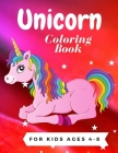 Unicorn Coloring Book for Kids Ages 4-8: 40 Beauticul Unicorn Photo For Coloring, Coloring Book for Boys, Girls, Toddlers, Preschoolers, Super Sweet C Cover Image