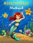 Meerjungfrau Malbuch für Jugendliche: Ausmalen der magischen Unterwasserwelt der Meerjungfrauen in über 40 wunderschönen ganzseitigen Illustrationen A Cover Image
