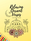Relaxing Quranic Verses: Islamic Coloring Book for Adults and Teens Cover Image