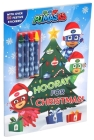 PJ Masks: Hooray for Christmas! (Coloring Books with Covermount) Cover Image