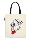 Let's Hang and Read Tote Bag Cover Image