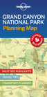 Lonely Planet Grand Canyon National Park Planning Map (Planning Maps) Cover Image