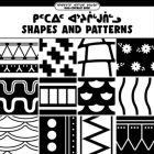 Shapes and Patterns: Bilingual Inuktitut and English Edition Cover Image