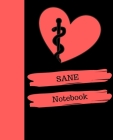 SANE Notebook: Sexual Assault Nurse Examiner Notebook Gift - 120 Pages Ruled With Personalized Cover Cover Image