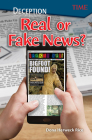 Deception: Real or Fake News? (Exploring Reading) Cover Image