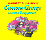 Curious George and the Firefighters: Lap Edition Cover Image