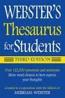 Webster's Thesaurus for Students Cover Image