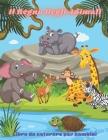 Il Regno Degli Animali - Libro da colorare per bambini: Questo Adorabile Libro Da Colorare È Pieno Di Una Grande Varietà Di Animali Da Colorare: Anima Cover Image