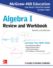 McGraw-Hill Education Algebra I Review and Workbook Cover Image