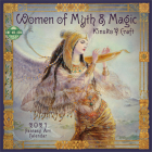 Women of Myth & Magic 2021 Wall Calendar: Fantasy Art Calendar Cover Image