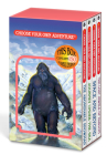 Choose Your Own Adventure 4-Book Set, Volume 1: The Abominable Snowman/Journey Under the Sea/Space and Beyond/The Lost Jewels of Nabooti Cover Image