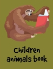 Children Animals Book: Children Coloring and Activity Books for Kids Ages 3-5, 6-8, Boys, Girls, Early Learning (American Animals #5) Cover Image
